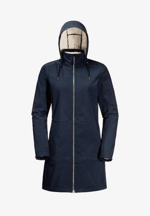 Soft shell jacket - midnight blue