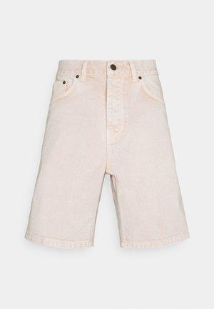NEWEL PARKLAND - Short en jean - dusty brown worn washed