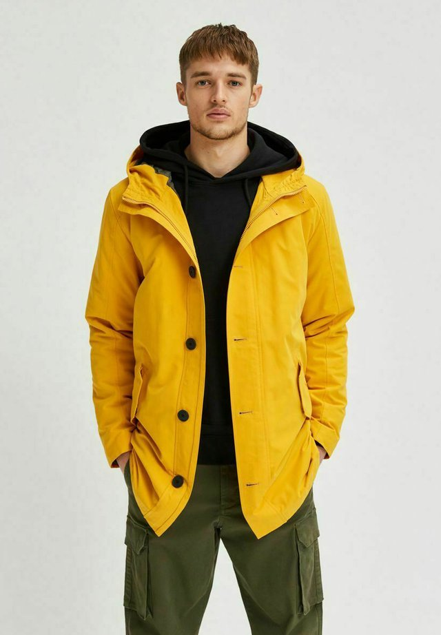 SUSTAINABLE ICONICS - Parka - mango mojito