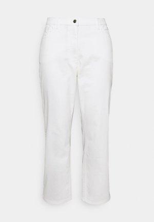 REGALE - Straight leg -farkut - white