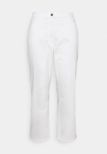 REGALE - Straight leg jeans - white