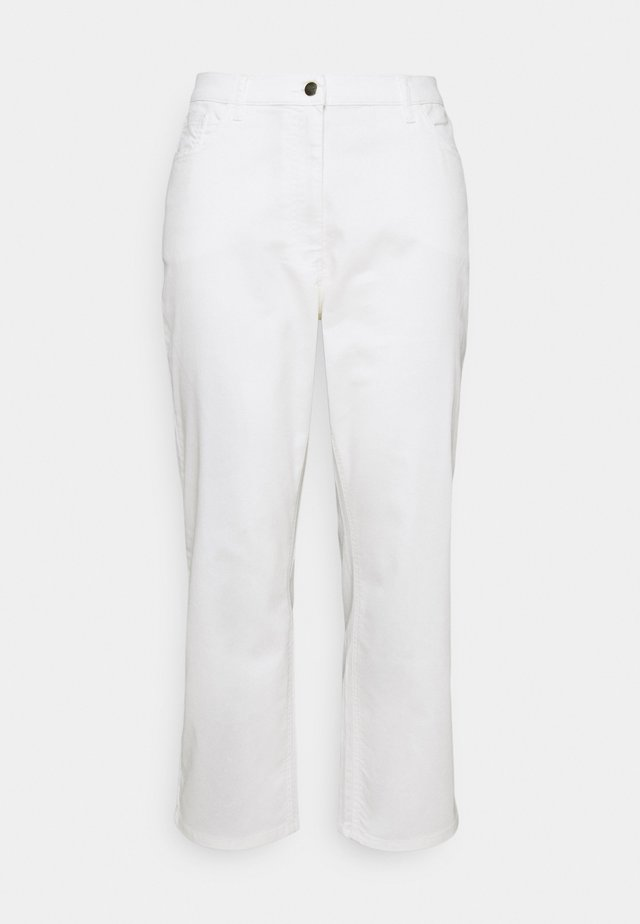 REGALE - Straight leg jeans - white