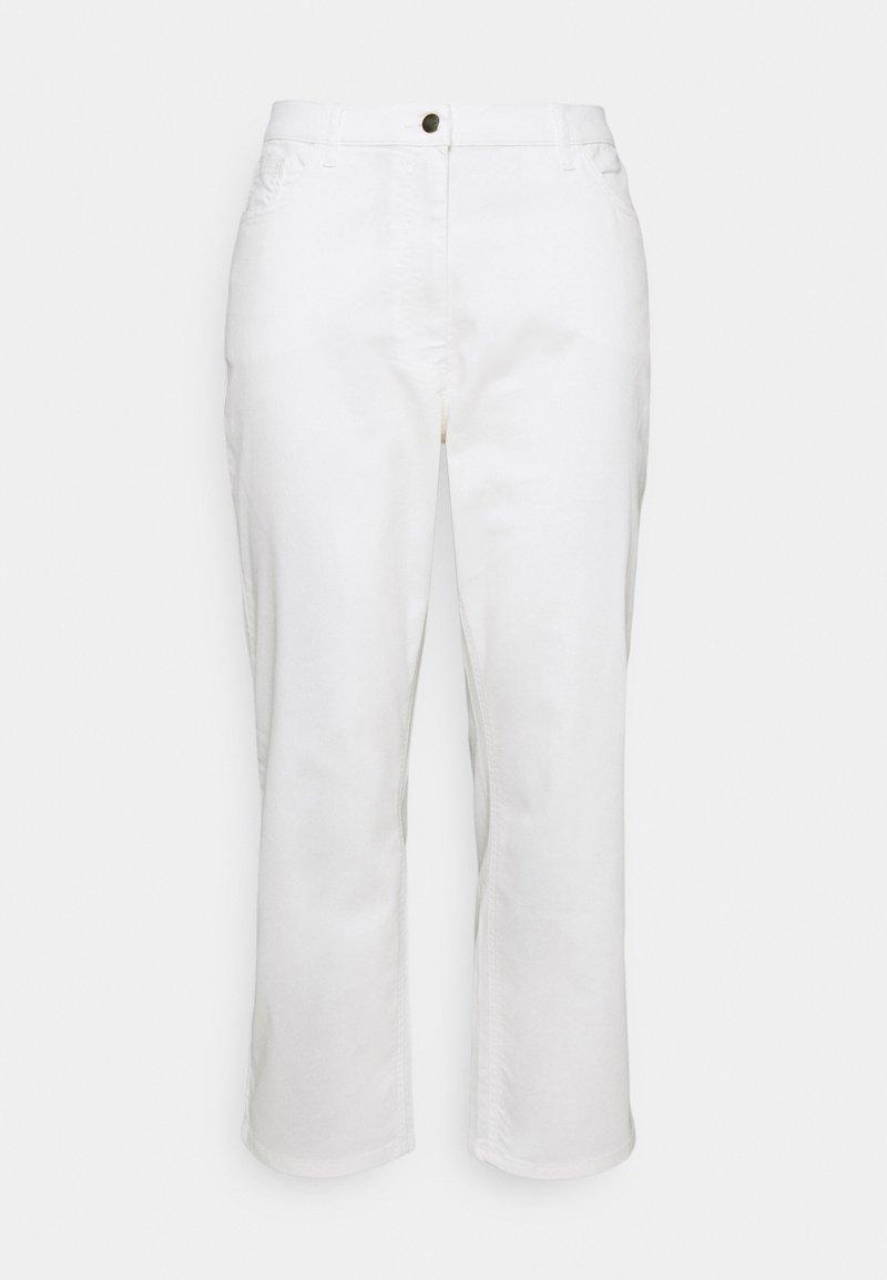 Persona by Marina Rinaldi - REGALE - Straight leg jeans - white