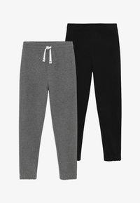 OVS - 2 PACK - Pantalones deportivos - dark grey/dark blue - 3
