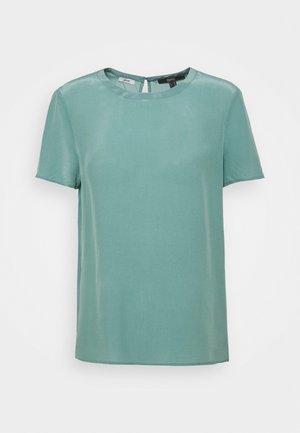 BLOUSE - Jednoduché triko - dark turquoise