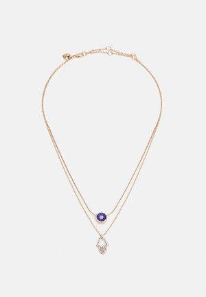 QERARITH - Necklace - capri blue/gold-coloured