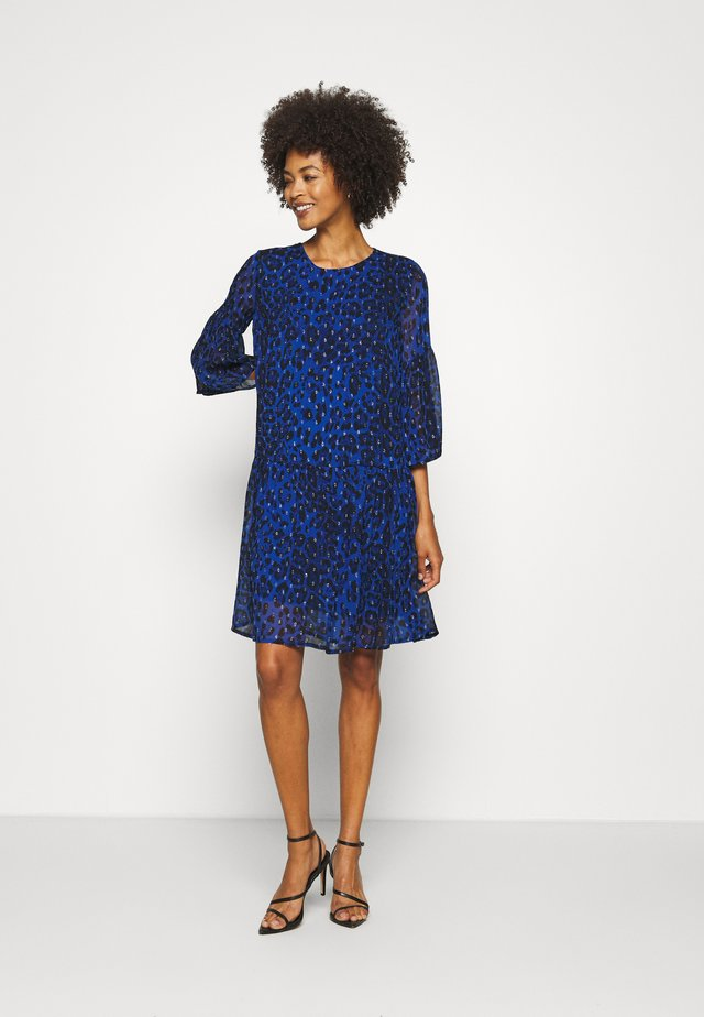 FINNA DRESS - Korte jurk - blue
