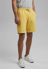 edc by Esprit - Tracksuit bottoms - light yellow - 3