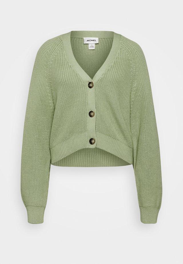 ZETA CARDIGAN - Strickjacke - green