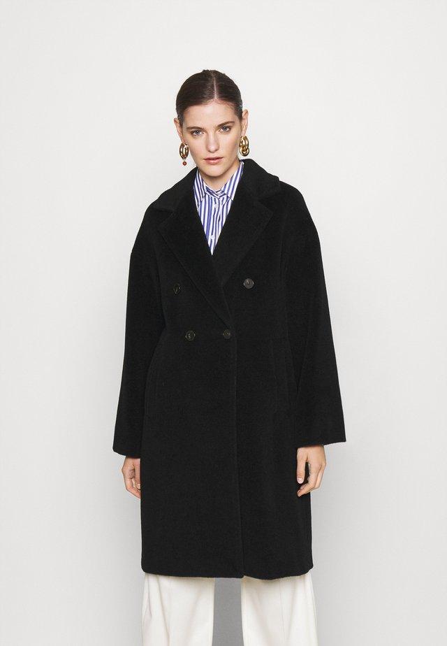 ZANORA - Klasický kabát - nero