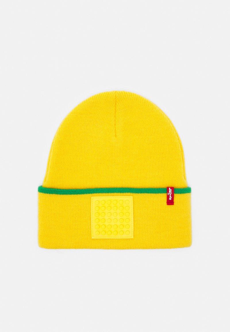 Levi's® - LEGO BEANIE SET UNISEX - Mössa - yellow