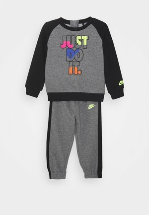 CREW SET - Tracksuit - carbon heather