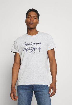 MOE - Print T-shirt - grey