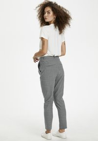 Karen by Simonsen - SYDNEY - Trousers - grey melange - 3