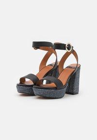 LAB - Platform sandals - black - 2