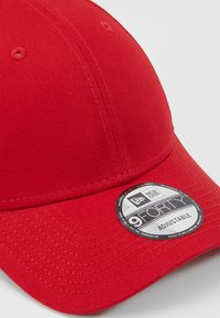 New Era - BASIC FORTY - Cap - scarlet/whte - 2
