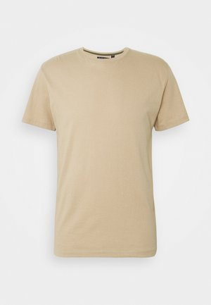 GRAILH - Basic T-shirt - mushroom / light khaki