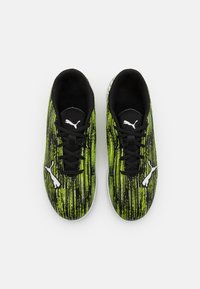 Puma - ULTRA 4.2 IT JR UNISEX - Indoor football boots - black/white/yellow alert - 3