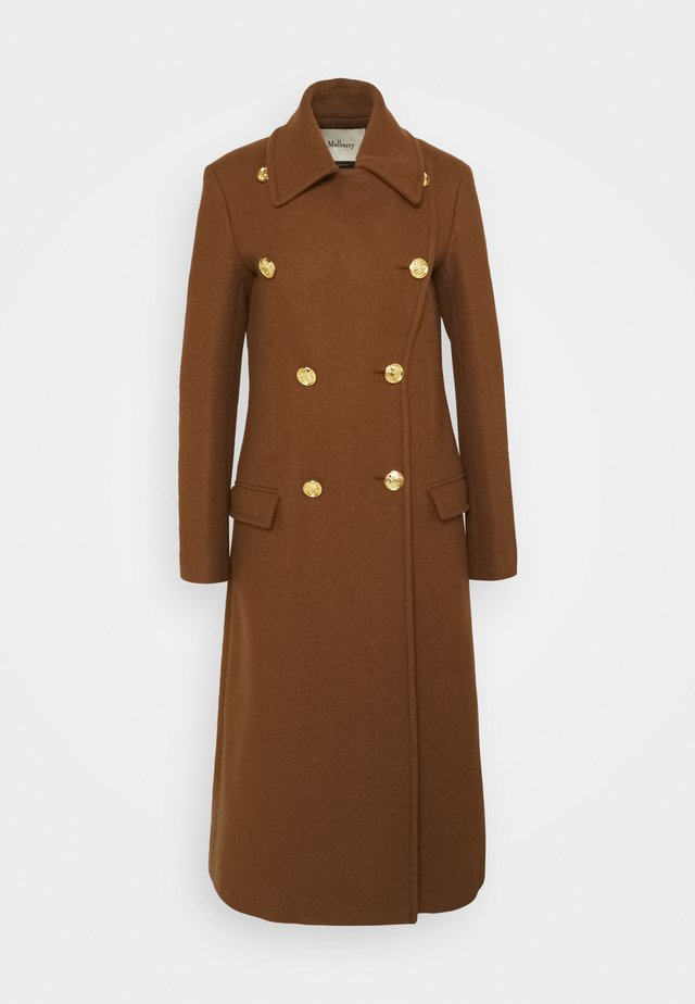 BETHAN COAT WOVEN - Classic coat - medium brown