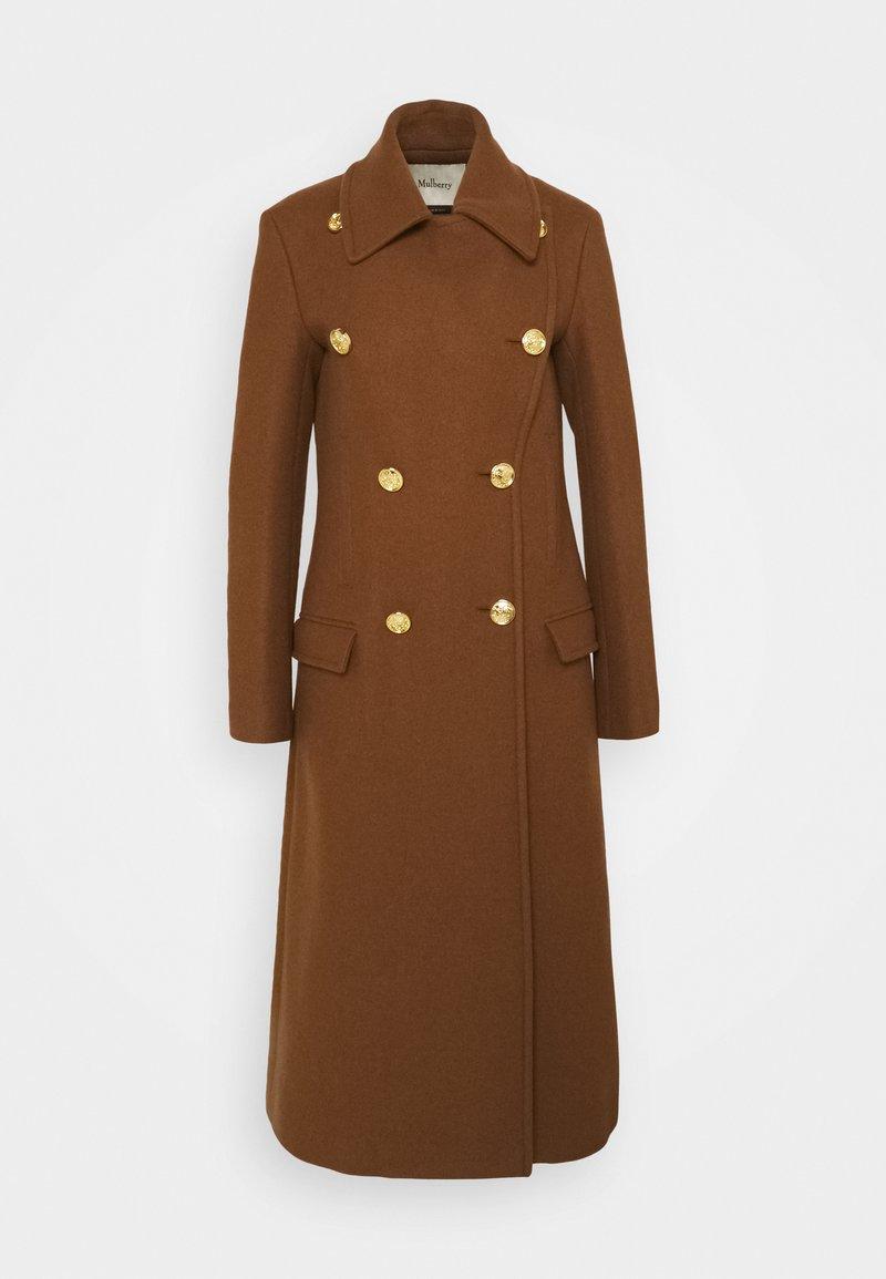 Mulberry - BETHAN COAT WOVEN - Classic coat - medium brown
