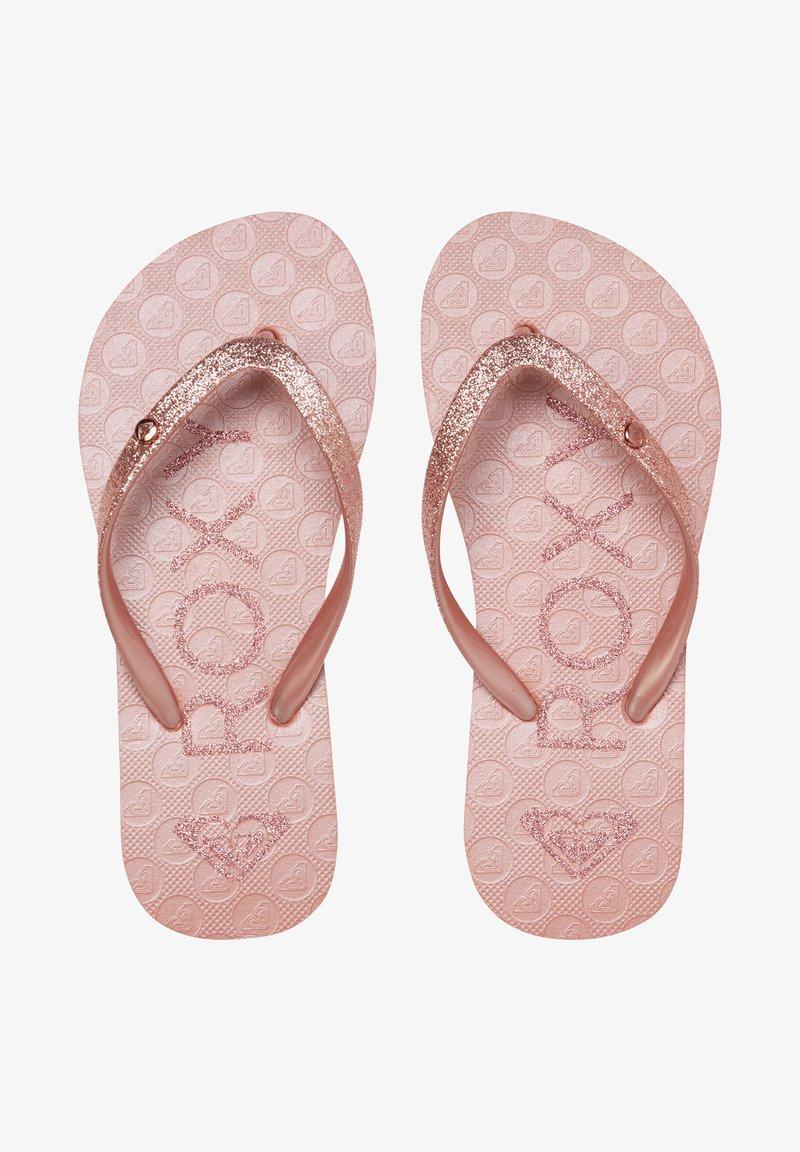 Roxy - VIVA GLITTER  - Pool shoes - rose gold