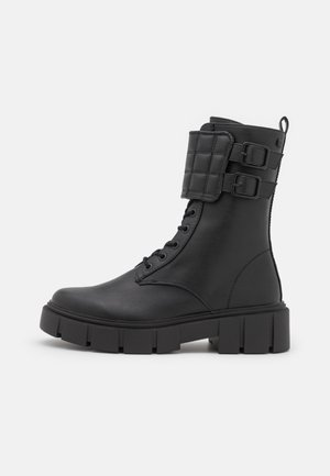 MARS - Šněrovací kotníkové boty - black