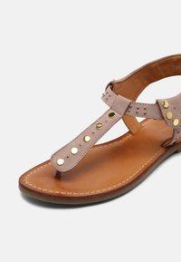 Copenhagen Shoes - REAL SUMMER - T-bar sandals - beige - 7