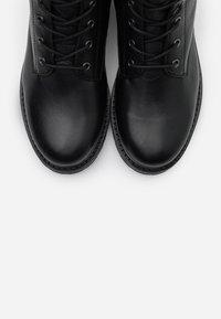 Ca'Shott - Lace-up ankle boots - black - 5