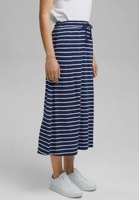 Esprit - A-line skirt - dark blue - 3