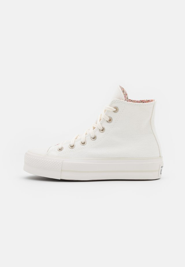 CHUCK TAYLOR ALL STAR LIFT - Baskets montantes - vintage white/multicolor