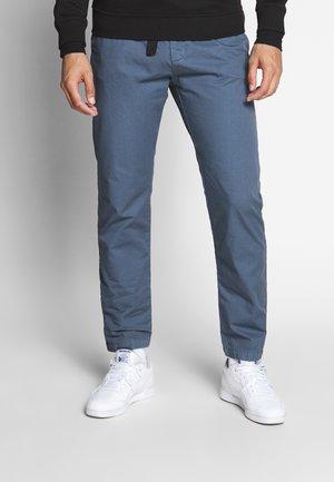 STRAIGHT LEG WITH BELT - Pantaloni - vintageblue
