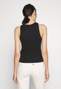 Calvin Klein Jeans - MONOGRAM STRETCH SPORTY TANK - Top - black - 2