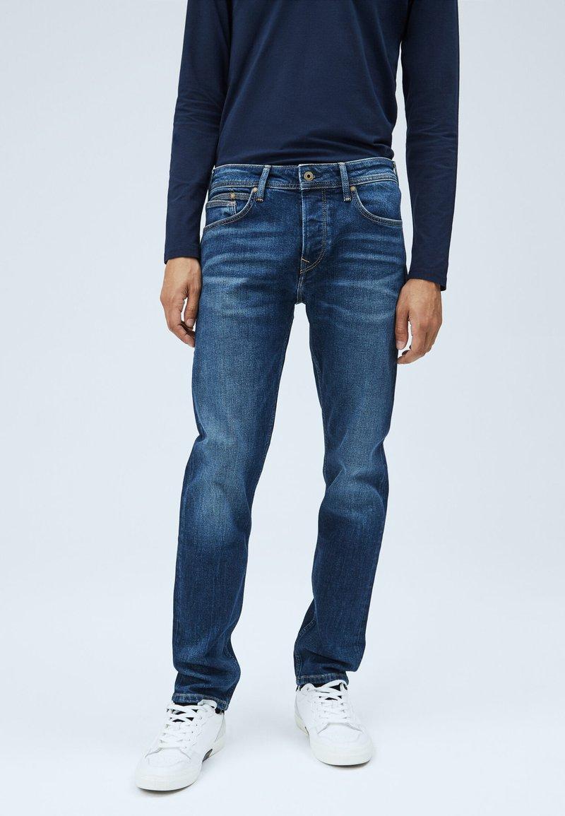 Pepe Jeans - CHEPSTOW - Jean droit - blue denim