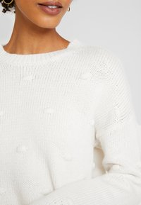 edc by Esprit - KNOTS - Strickpullover - off white - 5