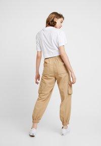BDG Urban Outfitters - BAGGY RAFF TROUSER - Spodnie materiałowe - ecru - 3