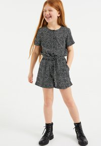 WE Fashion - MET STIPPENDESSIN - Overal - all-over print - 0