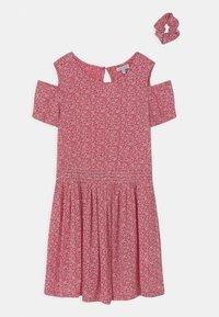 Lemon Beret - TEEN GIRLS SCRUNCHIE - Day dress - tomato puree - 0