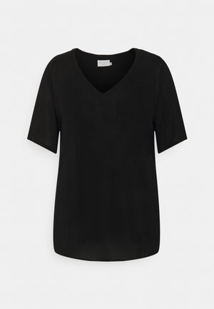 AMI BLOUSE - Basic T-shirt - black deep