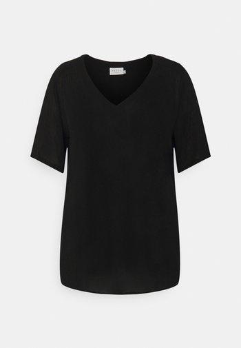 AMI BLOUSE - T-shirts - black deep
