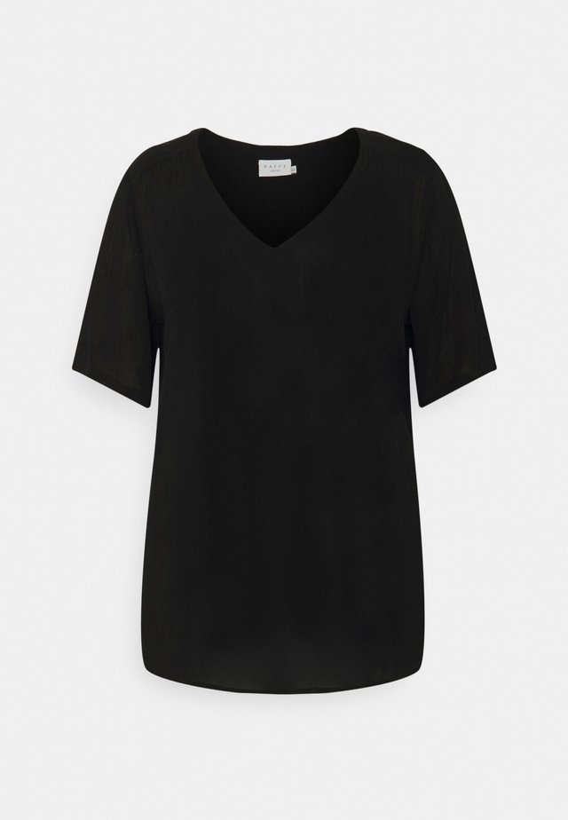AMI BLOUSE - Jednoduché triko - black deep
