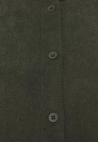 Marc O'Polo DENIM - DRESS SHORT SLEEVE BUTTON PLACKET - Day dress - deep depth - 2