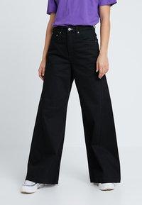 Weekday - BEAT - Jeans Bootcut - black - 0