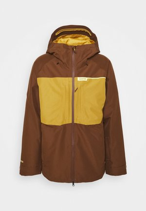 Snowboard jacket - bison/woodth