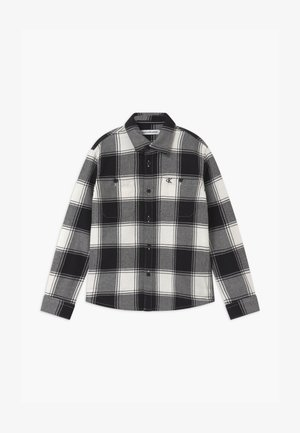 WINTER CHECK - Shirt - black