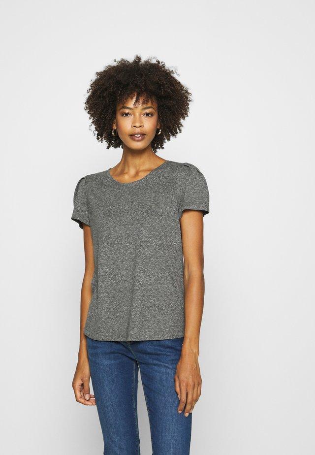 T-shirt basique - antracit