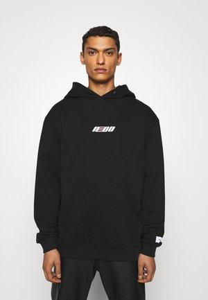 HOODED - Sweater - black