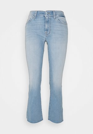 CROPPED BOOT - Bootcut jeans - light blue