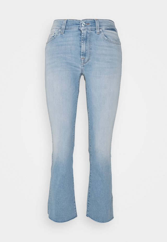 CROPPED BOOT - Jeans bootcut - light blue
