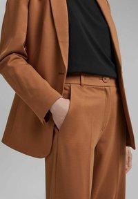 Esprit Collection - SOFT PUNTO - Trousers - caramel - 3