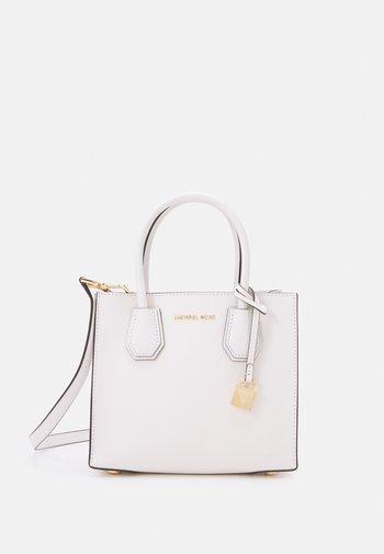 MERCER MESSENGER - Handbag - optic white